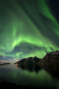 Curtain call, Lofoten, Norway