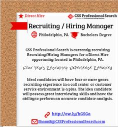 CSS Pro Search is #hiring Accountants in Greater PHL l $80,000/year ...