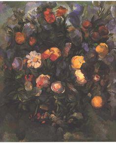 Vase of Flowers by @cezanneart