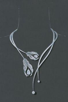 Plumes de Chanel necklace