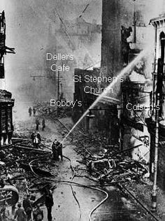 A history of the Exeter Blitz from 1940 to 1942 - includes the May 1942 blitz. Old Pictures, Old Photos, Exeter Cathedral, Exeter Devon, Devon Uk, Saint Stephen, The Blitz, British History, Great Britain