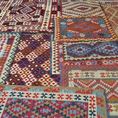 Hand Woven, hand dyed; these Vegetable Dye Kilims are quintessential Afghan tribal design. Well suited to both modern or contemporary settings, the soft pastel colours and geometric patterns encompass centuries old Afghan tradition.