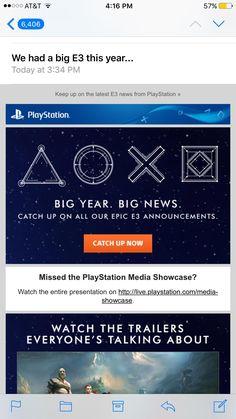 Sony's got jokes...