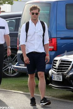 Jamie Dornan in Prague Pictures August 2015 | POPSUGAR Celebrity