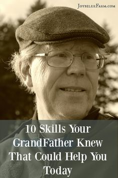 The savvy skills and knowledge learned in their youth were less about socializing and more about the essentials for their survival and success in the world. If you have the opportunity, ask them to tell you about outdoor skills or read about them to pick up some survival skills that grandpa knew.