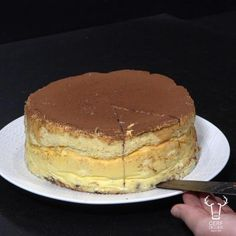 Japan cheesecake recipe Orange Confit, Miniature Food, Cheesecake Recipes, Food Videos, Tiramisu, Biscuits, Japan, Make It Yourself, Drink