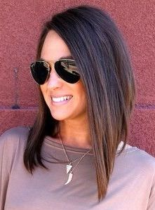 Long angled bob.. For wayyyy down the rd when I want to cut my hair back off :)