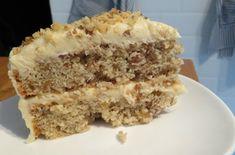 Low FODMAP coffee and walnut cake