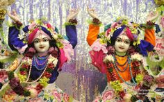 To view Nitai Gaurachandra Close Up Wallpaper of ISKCON Chowpatty in difference sizes visit - http://harekrishnawallpapers.com/sri-sri-nitai-gaurachandra-close-up-wallpaper-015/