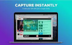 Giphy Capture, para capturar en formato GIF HD animado cualquier área en pantalla [Mac]