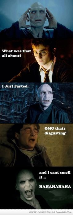 Nothing better than a good fart joke.