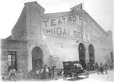 Cine y teatro Titán, ubicado  en la hoy calle de Docto Arce # 12.  Foto de la década de los años 20's