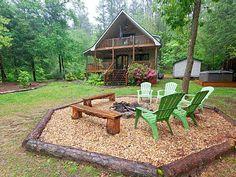 River Mist Log Cabin rental in Blue Ridge, Georgia  www.VRBO.com/406167