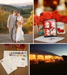 Real Wedding: Ashley + Aaron's Rustic Wedding in Calistoga