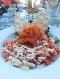 Wish I had this Lobster Salad now! Bonita Beach, Lobster Salad, Cobb Salad, Tacos, Mexican, Ethnic Recipes, Food, Essen, Meals