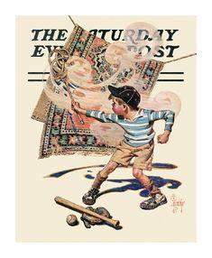 Illustration vintage JC L