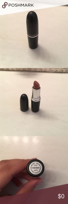 MAC Cherish Lipstick LIMITED TIME DEAL!!!!! With the purchase of any item at full price (except MAC Pro Palette) I will include this MAC Cherish Lipstick that has only been swatched for FREE (box not included). This also includes bundles. This deal will only be available until 12am mountain time 10/18/16. With the MAC pro palette I'm willing to take a fair offer. MAC Cosmetics Makeup Lipstick