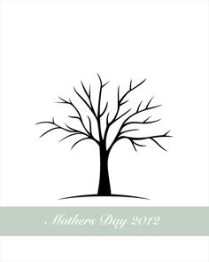 printable - I am going to use this tree for fall leaves finger painting!