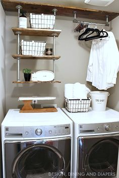 Industrial farmhouse tour, by Design, Dining and Diapers, featured on Funky Junk Interiors