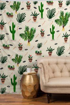 Plantastic wall paper