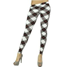 Leggins a quadri