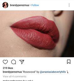 Anastasia Beverly Hills Rosewood lipstick