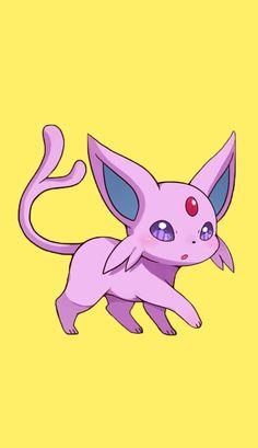 Umbreon Y Espeon, Pokemon Eeveelutions, Eevee Evolutions, All 151 Pokemon, Pokemon Pins, Pokemon Stuff, Mythical Creatures Art, Cute Creatures, Eevee Cute