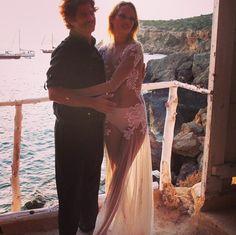 Model Brides: Karmen Pedaru Wedding dress Francesco Scognamiglio