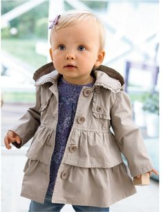 New Arrival winter baby girl coat/children/kids jacket coat  western style bistratal girl jacket children clothing Free shipping $17.85