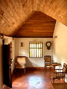 Reading Nook By The Window Had A Similar One At My Village Growing Up Interior BlogsInterior DesigningKerala ArchitectureArchitecture InteriorsIndia