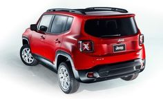 Rear shot of the new 2015 #Jeep #Renegade
