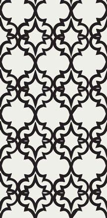 Painted gate - beautiful pattern