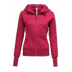 Lululemon Scuba Hoodie Red for Women - ID 26541  #lululemonwarehousesale