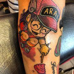 Alizée's tattoo