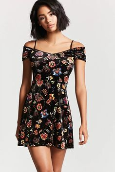 Contemporary Velvet Dress   Forever 21