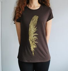 Organic Cotton Silkscreened Shirt