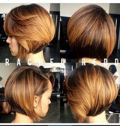 Bob!! Love the cut and color Rachel Redd- stylist