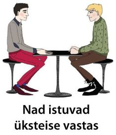 Nad istuvad üksteise vastas.; http://ift.tt/2if3Qn1