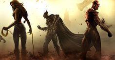 Injustice: Gods Among Us Release Date Revealed - http://gamerant.com/injustice-release-date-battle-edition/