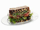 Portobello Mushroom Sandwiches - South Beach Diet Recipe (Phase 2)