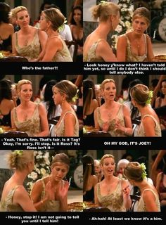 the one with the wedding dress #monica #phoebe #rachel #friends