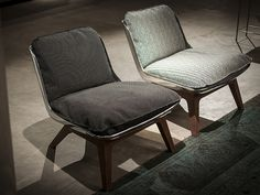 Leather armchair HOUSTON by BAXTER | design Paola Navone