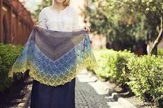 Ravelry: Brie Shawl pattern by Justyna Lorkowska