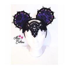 Custom designs inspired by Disney,Fashion, & Culture by MausCouture Disney Ears Headband, Diy Disney Ears, Disney Headbands, Disney Mickey Ears, Disney Bows, Disney Hair, Disney Fun, Mickey Mouse, Disney Shirts