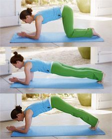 Dolphin/Plank ~ This integrated core exercise builds strength and utilizes the full range of your core muscles, particularly the back....who doesn't want a sexy back!
