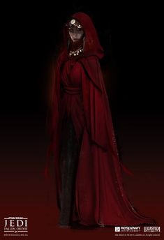 Merrin is the witch of Dathomir and is introduced as a powerful foe to be reckoned with. The robed stage for her Star Wars Sith, Star Wars Droids, Star Wars Rpg, Clone Wars, Star Wars Concept Art, Star Wars Fan Art, Star Wars Characters, Fantasy Characters, Character Inspiration