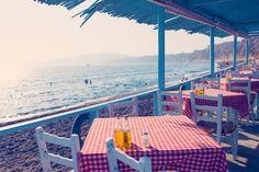 Travel through the Greek Isles with Gray Malin as he lets you in on his top Greece travel guide tips. Mykonos Blue, Santorini Greece, Athens Greece, Crete Greece, Kamari Beach, Greek Week, Greece Photography, Art Photography
