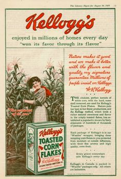 awesome vintage ads and posters | vintage advertising1 Kellogg's