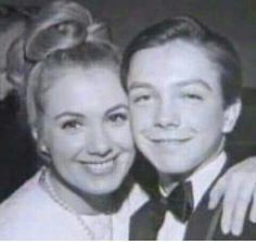 Shirley and a young David
