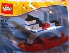DONE :) November 2012 :) Lego Holiday Rocking Horse - Stocking stuffer! Lego Holiday Train, Lego Christmas, Christmas Train, Christmas Minis, Great Christmas Gifts, Christmas Activities, Lego Advent, Holiday Ornaments, Holiday Decor